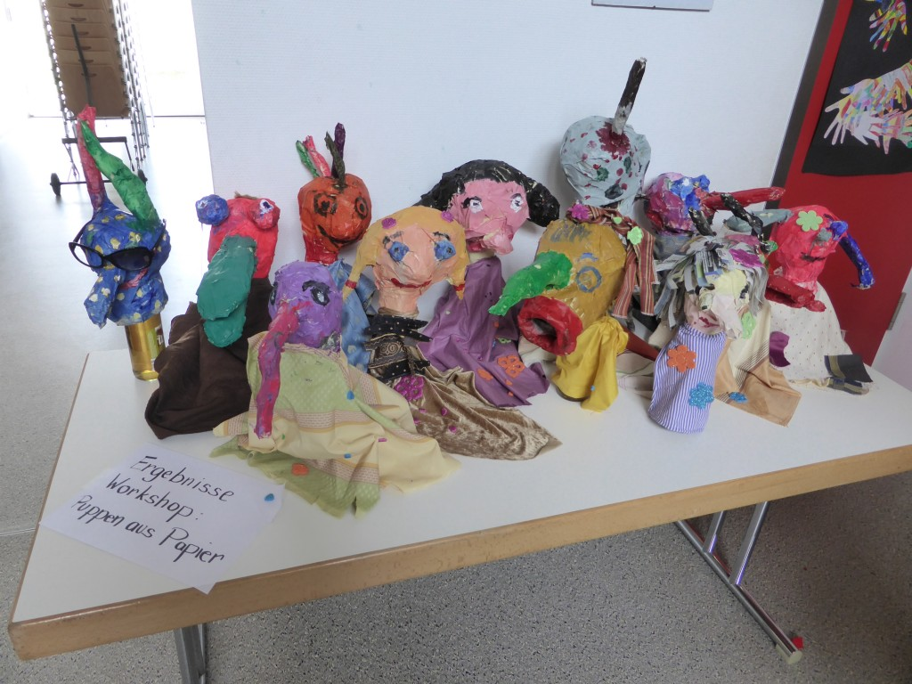 Puppen aus Papier, Fr. Egger